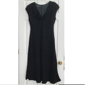 JONES WEAR DRESS Black Lined Formal Dress 16